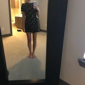 87ee545e Zara Dresses | Dark Green Mini Dress | Poshmark